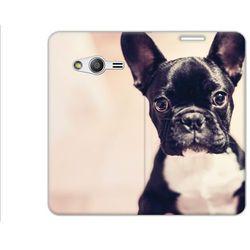 Flex Book Fantastic - Samsung Galaxy Trend 2 Lite - pokrowiec na telefon - buldog