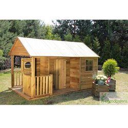 Drewniany domek dziecięcy Simone
