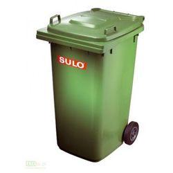 Pojemnik mobilny na odpady 240L - zielony SULO