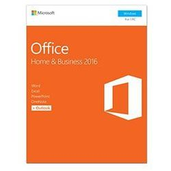 Office 2016 dla Użytkowników Domowych i Małych Firm
