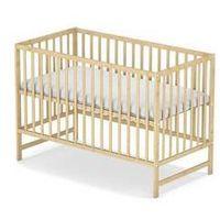 Drewniane łóżeczko dla dziecka Baby Sky KLASIK borovice