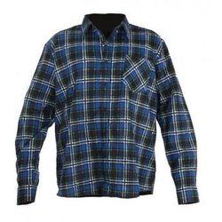 LAHTI PRO Koszula flanelowa w kratę niebieska rozmiary S-XXL (ZNALAZŁEŚ TANIEJ - NEGOCJUJ CENĘ !!!)