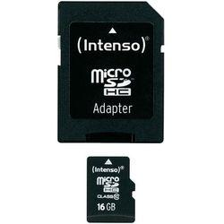 Karta pamięci microSDHC Intenso 3413470, 16 GB, Class 10, 20 MB/s / 12 MB/s