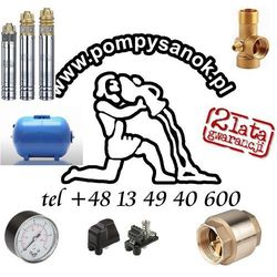 Zestaw głębinowy Pompa SKM 150 230V ze zbiornikiem hydroforowym 80l + akcesoria
