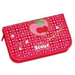 SCOUT Basic Piórnik z akcesoriami, 23 elementy - Sweet Cherry