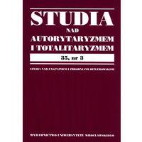 Studia nad autorytaryzmem i totaliryzmem 35, nr 2 - wysyłamy w 24h (opr. miękka)