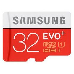 Karta pamięci Samsung Micro SDHC EVO+ EVO PLUS Micro SDHC 32GB + adapter (MB-MC32DA/EU)