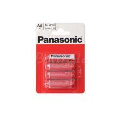 bateria cynkowo-węglowa Panasonic R6 AA (blister)
