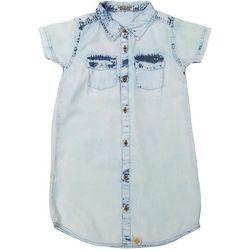 cb195ebc2e Dirkje sukienka jeansowa dziewczęca 146 jasnoniebieski - BEZPŁATNY ODBIÓR   WROCŁAW!
