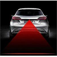 Anti Collision Rear-end Car Laser Tail 12v led car Fog Light Auto Brake auto Parking Lamp Rearing car Warning Light car styling