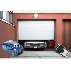 Segmentowa brama garażowa MSW GD2375 z napędem
