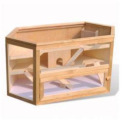 Drewniana klatka dla chomika sześciokątna Zapisz się do naszego Newslettera i odbierz voucher 20 PLN na zakupy w VidaXL!
