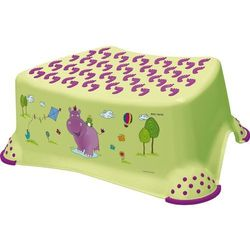 KIDS Hippo Podest step stool limonka