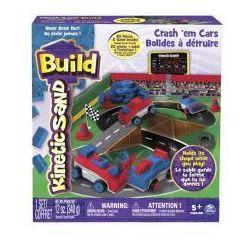 Piasek Kinetic Sand Build konstrukcyjny Samochody Zderzaki 340g Spin Master 6026967