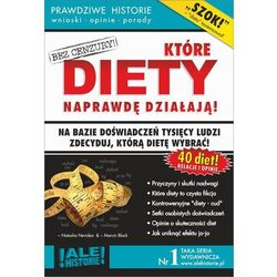 EBOOK Które diety naprawdę działają. Prawdziwe historie, wnioski, opinie, porady...