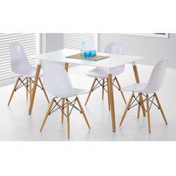 Zestaw Socrates stół + 4 krzesła Enzo