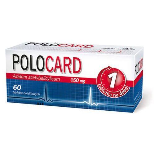 Polocard 150 mg x 60 dojelitowych tabletek powlekanych
