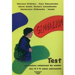 Sprawdziany umiejętności dla uczniów SP kl.4-6 Test (opr. miękka)