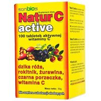 Natur C Active tabl. 0,2 g 100 tabl.