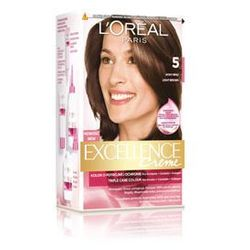 Excellence Creme farba do włosów 5 Jasny Brąz