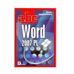 Abc Word 2007 PL WYPRZEDAŻ - Publikacje wydane przed 2011 rokiem z atrakcyjnymi RABATAMI 30-50%! Środki w stanie idealnym!