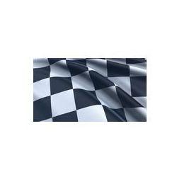Foto naklejka samoprzylepna 100 x 100 cm - Flaga z szachownicą