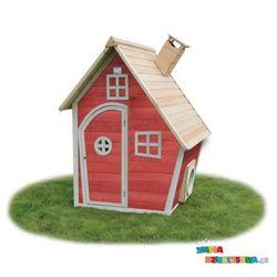 Domek ogrodowy dla dziecka EXIT Fantasia 100 czerwono - brązowy