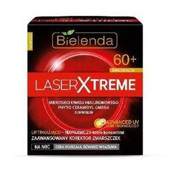 BIELENDA LASER XTREME 60+ Krem koncentrat liftingująco-naprawczy na NOC na zmarszczki 50ml