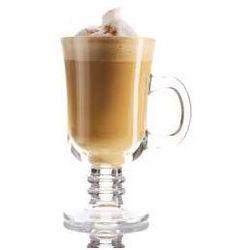 Szklanki do kawy latte Irish Coffee, zestaw 2 szklanek + łyżeczki koktajlowe