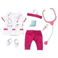Ubranko dla lalki Baby born Deluxe Doctor set Fartuch lekarski