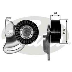 T38347 GATES NAPINACZ PASKA RENAULT Rolka napinacza 8200262773 VKM36052