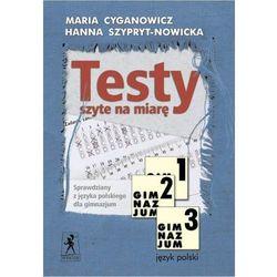 Język polski GIM KL 1-3.Testy szyte na miarę - Wysyłka od 2,99 - porównuj ceny z wysyłką - Wesołych Świąt (opr. miękka)