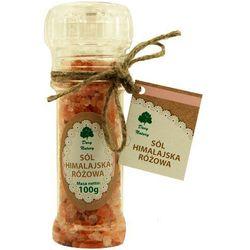 Sól himalajska różowa 100g (w młynku) - Dary Natury