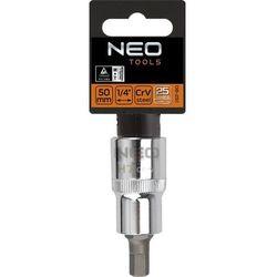 Końcówka na nasadce NEO 08-770 sześciokątna 1/2 cala H5 x 55 mm