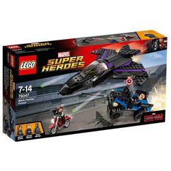 Lego SUPER HEROES Pościg czarnej pantery 76047