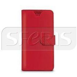 CELLY WALLYUNIXXLRD Uniwersalne Etui Czerwone do smartfonów 5'' - 5,7''