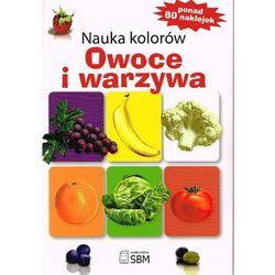 Nauka kolorów. Owoce i warzywa