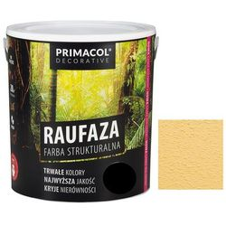 Farba strukturalna Raufaza Piaskowy 5 l Primacol Decorative