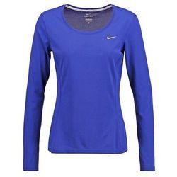 Nike Performance Bluzka z długim rękawem deep royal blue/reflective silver