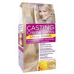 Loreal Paris Casting Creme Gloss Farba do włosów bez amoniaku Jasny Lodowy Blond nr 1010