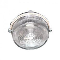 Oprawa oświetleniowa BURSTER szara, E27, szkło przeźroczyste ORNO