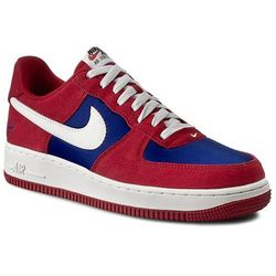 Buty NIKE - Air Force 1 488298 626 Gym Red/Sail-Deep Royal Blue