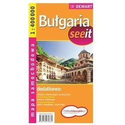 Bułgaria seeit. Mapa samochodowa (opr. miękka)