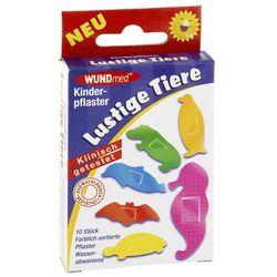 Plaster dla dzieci - wesołe zwierzaki 10 szt.