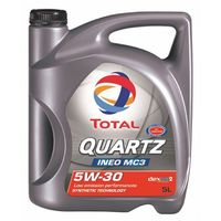 TOTAL QUARTZ INEO MC3 5W30 5L SN/CF, C3, VW 502.00/505.01, Dexos2, BMW LL-04
