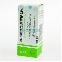 Xylometazolin krople 0,1% x 10