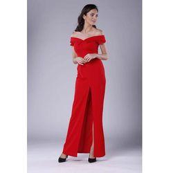 ec0af77f8a suknie sukienki ciemno czerwona dluga suknia wieczorowa sukienki dla ...