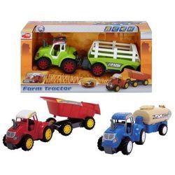 Zabawka DICKIE Traktor Farm Z Przyczepą