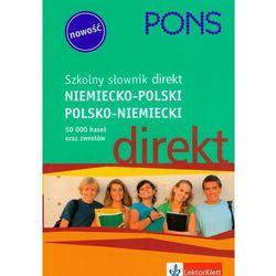 Szkolny słownik niemiecko-polski, polsko-niemiecki (opr. miękka)