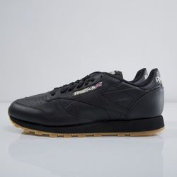 Sneakers buty Reebok Classic CL Leather TC black V62644
